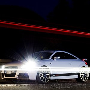 Audi TT Replacement HID Light Bulbs Set for OEM Xenon 8J 8N Headlamps Headlights Head Lamps Lights