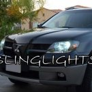 Mitsubishi Outlander Head Lamp Replacement Light Bulbs 4750K Bright White