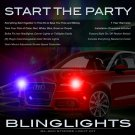 Audi A1 Strobe Police Light Kit for Headlamps Headlights Head Lamps Strobes Lights