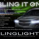 2009 2010 2011 2012 Chevrolet Chevy Traverse LED Strips Headlamp Headlight Day Time Running Lamps