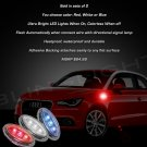 Audi A1 LED Side Marker Turn Signal Lights Accent Turnsignal Lamps Signalers Accents Signals Markers