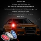 Audi Q3 LED Side Marker Turn Signal Lights Accent Turnsignal Lamps Signalers Accents Signals Markers