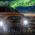 2012 2013 2014 Audi Q3 Xenon Fog Lamps Driving Lights Foglamps Foglights Kit 2.0 TFSI TDI