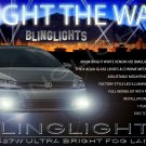 2011-2015 VW Jetta a6 Xenon Fog Lamp Driving Light Kit volkswagen