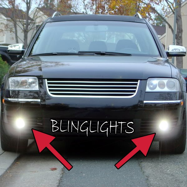 1998 1999 2000 2001 2002 2003 2004 2005 Volkswagen VW Passat B5 Xenon Fog Lamps Lights Foglamps Kit