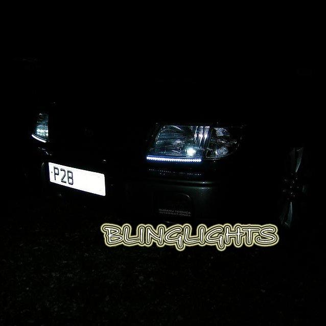 1998-2002 Subaru Forester LED DRL Head Lamp Light Strips Kit