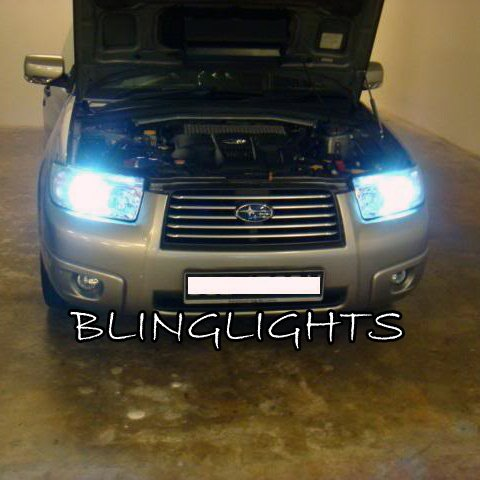 Subaru Forester Xenon HID Headlamp Kit Headlights conversion
