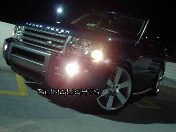 2006 2007 2008 2009 Range Rover Sport HSE Supercharged Xenon Fog Lamps Driving Lights Foglamps Kit