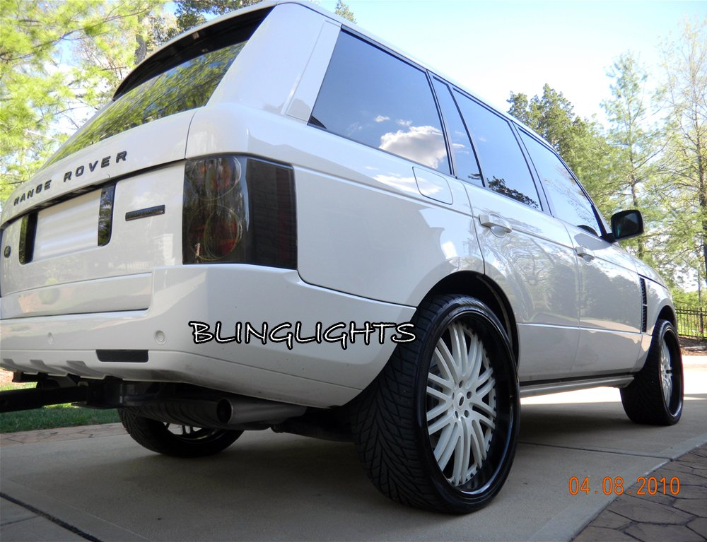 range rover l322 tinted smoked taillamps taillights tail. Black Bedroom Furniture Sets. Home Design Ideas