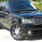 2010 2011 2012 Range Rover L322 HSE Supercharged Xenon Fog Lamps Driving Lights Foglamps Kit