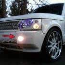 2003 2004 2005 2006 2007 2008 2009 Range Rover L322 Halo Fog Lamps Angel Eye Lights Foglamps Kit