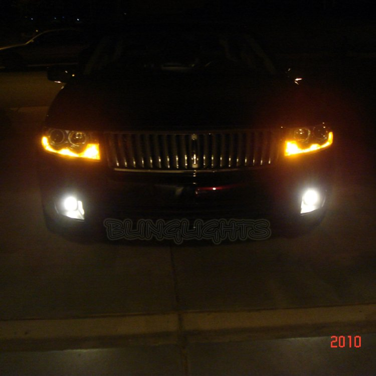 Lincoln MKZ Zephyr Xenon Fog Lamps Driving Lights Kit Foglamps Foglights