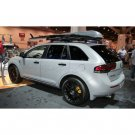 Lincoln MKX Tinted Smoked Protection Overlays for Taillamps Taillights Tail Lamps Lights