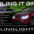 2004 2005 2006 Scion xA LED DRL Strips Headlamps Headlights Head Lamps Day Time Running Strip Lights