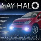 2004 2005 2006 Scion xA Halo Fog Lamps Angel Eye Driving Lights Foglamps Foglights Drivinglights Kit