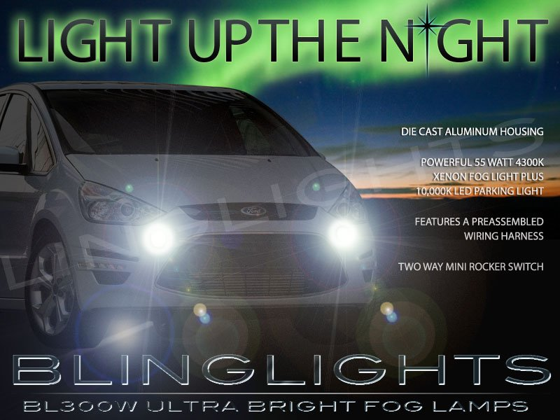 2010 2011 2012 Ford S-Max Xenon Fog Lamps Driving Lights Foglamps Foglights Drivinglights Kit