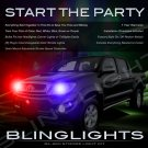 Toyota Tacoma Police Strobe Light Kit for Headlamps Headlights Head Lamps Lights Strobes