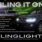 Toyota Hilux LED DRL Light Strips for Headlamps Headlights Head Lamps Day Time Running Strip Lights