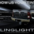 Toyota Hilux Tinted Smoked Protection Film Overlays for Taillamps Taillights Tail Lamps Lights