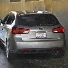 Kia Forte Hatchback Tinted Smoked Protection Overlays for Taillamps Taillights Tail Lamps Lights