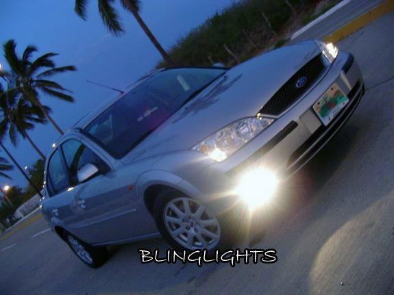 2001 2002 2003 2004 2005 2006 2007 Ford Mondeo Ghia Mk3 Xenon Fog Lamps Driving Lights Foglamps Kit