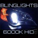 H8 6000K White Blue 55 Watt Xenon HID Lamp Conversion Kit 55w HIDs from Japan