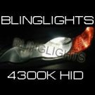 H9 4300K White 55 Watt Xenon HID Lamp Conversion Kit JDM 55w HIDs
