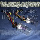 H4 9003 HB2 Size High Low Xenon HID Conversion Kit Light Bulbs Replacement Bulb Set Pair of 2