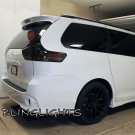 Toyota Sienna Tinted Smoked Protection Film Overlays for Taillamps Taillights Tail Lamps Lights