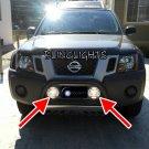 Nissan Xterra Bull Bar Off Road Driving Lights Bumper Auxilliary Lamps