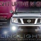 2004 2005 2006 2007 2008 2009 Nissan Patrol Safari Y61 Xenon Fog Lamps Lights Foglamps kit