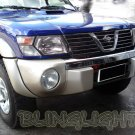 Nissan Patrol Safari SNY Euro Bumper Body Foglamps Foglights Fog Lamps Driving Lights Kit