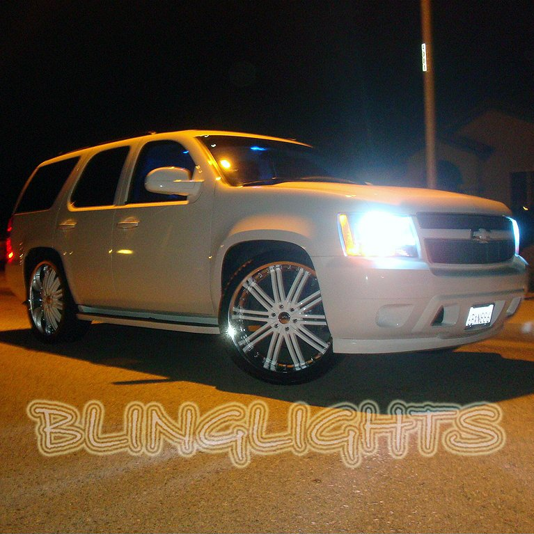 Chevrolet Tahoe Head Lamp Super White Bright Light Bulbs Chevy Replacement Upgrade