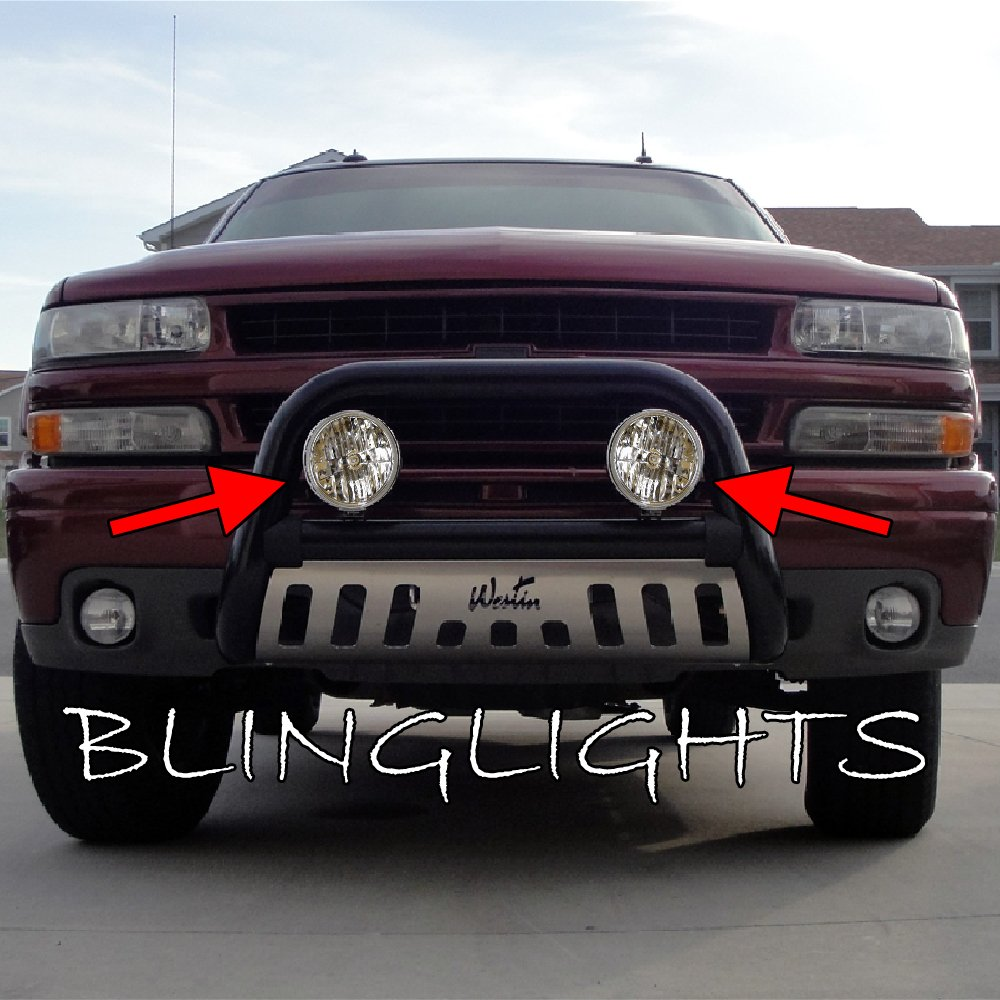Chevy Suburban Auxilliary Bumper Bar Driving Lights Chevrolet Off Road Lamp Kit