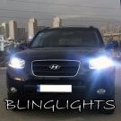 2007 2008 2009 2010 2011 2012 Hyundai Santa Fe Bright White Light Bulbs for Headlamps Headlights