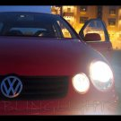 Volkswagen VW Polo HID Simulated Head Lamp Light Bulbs Replacement Upgrade Mk4 9N 9N3 6R GTI