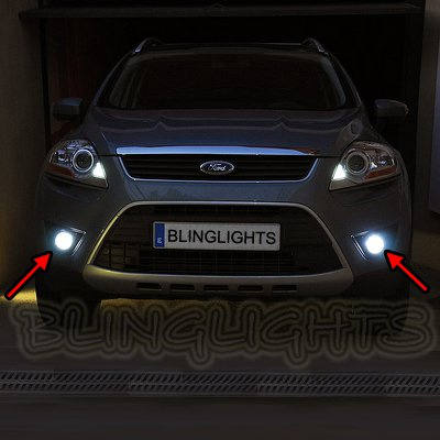 2008 2009 2010 2011 2012 Ford Kuga Xenon Fog Lamps Driving Lights Foglamps Foglights Kit