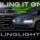2011 2012 2013 Volkswagen VW Passat B7 NMS LED DRL Strips Day Time Running Lamps Strip Lights