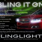 Chevy Malibu LED DRL Head Light Strips Day Time Running Lamps Kit