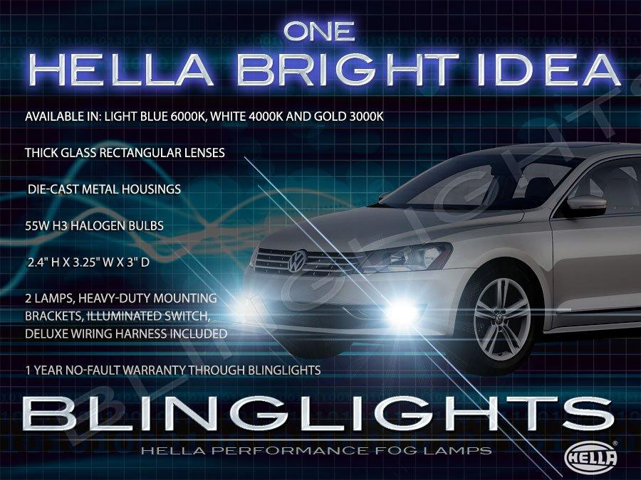 2011 2012 2013 VW Passat Fog Lamp Light Kit B7 Xenon Drivinglights