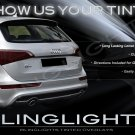 Audi Q5 Tinted Smoked Protection Overlays Film for Taillamps Taillights Tail Lamps Lights