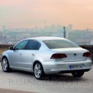 2011 2012 2013 Volkswagen VW Passat B7 Tinted Smoked Protection Overlays for Taillamps Taillights