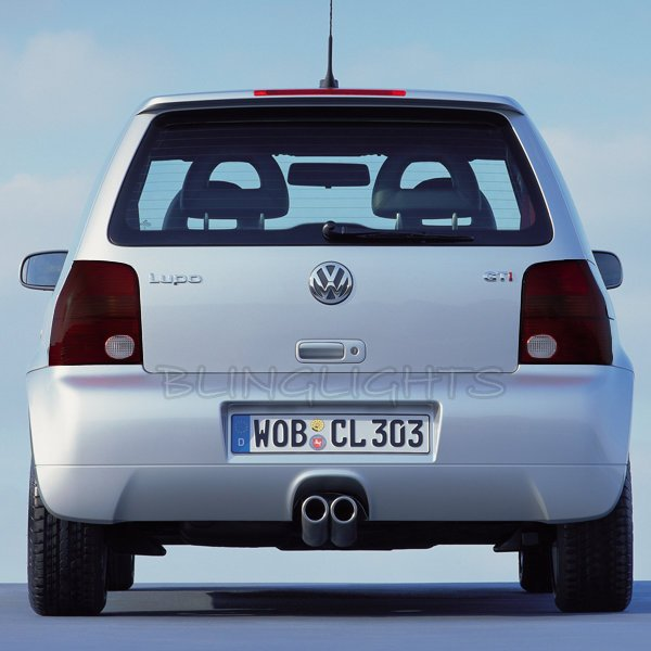 Volkswagen VW Lupo Tinted Smoked Overlays Film for Taillamps Taillights Tail Lamps Lights Tint