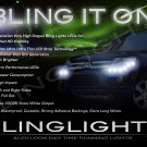 Mitsubishi Nativa LED DRL Strips for Headlamps Headlights Head Lamps Day Time Running Strip Lights