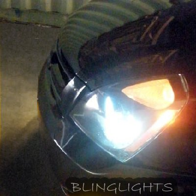Kia Sedona Bright 4750K White Head Lamp Replacement Light Bulbs Set