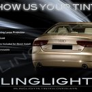 Audi A8 S8 Tinted Tail Lamps Lights Overlays Kit Smoked Protection Film