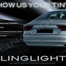 Audi A7 RS7 Tinted Tail Lamp Light Overlays Kit Smoked Film Protection