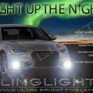 2012 2013 2014 Audi A6 Xenon Fog Lamps Driving Lights Foglamps Foglights Kit