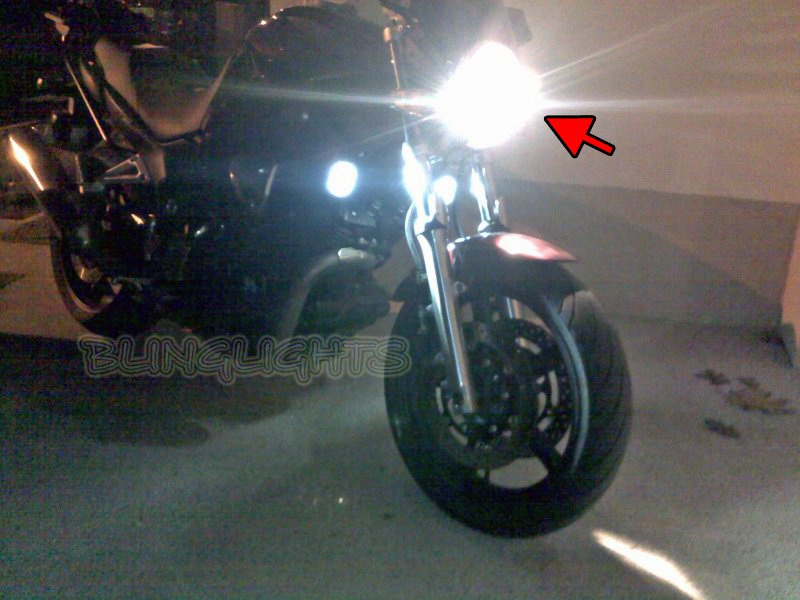Yamaha KT1100 Bulldog Xenon HID Conversion Kit for Headlamp Headlight Head Lamp Light HIDs