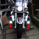 Yamaha V-Max VMAX LED Driving Lights Fog Lamps Drivinglights Foglamps Foglights Kit
